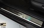 Nataniko Накладки на пороги Toyota Camry 50 2011-