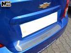 Nataniko Накладка на задний бампер для Chevrolet Aveo Sedan 2012-