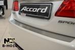 Накладка на задний бампер для Honda Accord 2013-