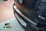 Nataniko Накладка на задний бампер для Volkswagen Polo Sedan 2010-