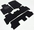 Коврики в автомобиль текстильные Acura MDX 2006-2009 черные Elit