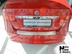 Накладка на бампер с загибом для MG 350 2012-