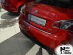 Накладка на бампер с загибом для MG 6 Sedan 2010-