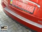 Накладка на бампер с загибом для Ssang Yong Korando 2010-