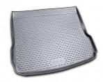 Коврик в багажник для Audi Q5 2008- полиуретановый серый
