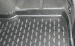 Коврик в багажник автомобиля Шевроле Авео Седан 2012- Новлайн