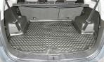 Коврик в багажник автомобиля Chevrolet Captiva 2012- (длинный) полиуретановый черный