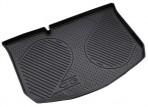 Коврик в багажник автомобиля Citroen C3 2010- полиуретановый черный