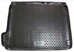 Коврик в багажник автомобиля Citroen C4 2010- полиуретановый черный