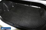 Коврик в багажник автомобиля FAW Besturn B50 полиуретановый черный