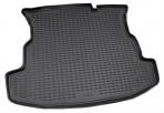 Коврик в багажник автомобиля Fiat Albea 2002-2012 полиуретановый черный