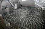 Коврик в багажник автомобиля Ford Explorer 2010- полиуретановый черный