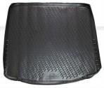Коврик в багажник автомобиля Focus III Sedan 2011- полиуретановый черный