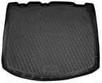 Коврик в багажник автомобиля Ford Kuga 2013- полиуретановый черный