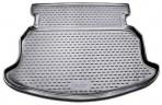 Коврик в багажник автомобиля Geely Emgrand EC7-RV Hatchback 2012- полиуретановый черный