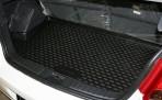 Коврик в багажник автомобиля Geely MK Hb/MK Cross полиуретановый черный
