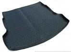 Коврик в багажник автомобиля Honda CR-V 2013- полиуретановый черный