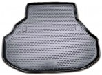 Коврик в багажник автомобиля Honda Crosstour 2010- полиуретановый черный