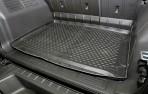 Коврик в багажник автомобиля Hummer H3 полиуретановый черный