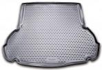 Коврик в багажник автомобиля Hyundai Elantra MD 2011- полиуретановый черный