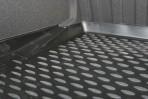 Коврик в багажник для Hyundai Equus 2013- полиуретановый черный