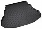 Коврик в багажник автомобиля Hyundai Genesis 2008- полиуретановый черный