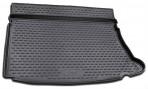 Коврик в багажник автомобиля Hyundai i30 Hb 2007-2012 полиуретановый черный