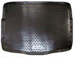 Коврик в багажник автомобиля Hyundai i30 Hb 2012- полиуретановый черный