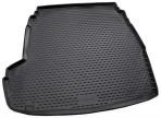 Коврик в багажник автомобиля Hyundai Sonata YF 2010- полиуретановый черный