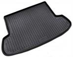 Коврик в багажник автомобиля Hyundai Accent 2006-2010 полиуретановый черный