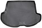 Коврик в багажник автомобиля Infiniti FX35/FX45 2003-2008 полиуретановый черный
