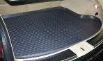 Коврик в багажник автомобиля Infiniti FX 37/50/FX30D 2008- полиуретановый черный