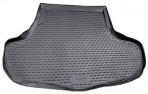 Коврик в багажник автомобиля Infiniti G 2010- полиуретановый черный