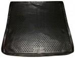 Коврик в багажник автомобиля Infiniti QX56 2011- (удлиненный) полиуретановый черный