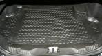 Коврик в багажник автомобиля Jaguar XF 2008- полиуретановый черный