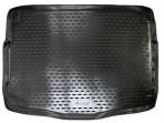 Коврик в багажник автомобиля Kia Ceed (JD) Hatchback 2012- (Top) полиуретановый черный