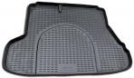 Коврик в багажник автомобиля Kia Cerato 2004-2009 полиуретановый черный
