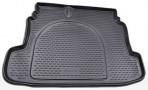 Коврик в багажник автомобиля Kia Cerato 2009-2013 полиуретановый черный