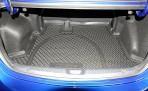 Коврик в багажник автомобиля Kia Cerato Koup 2009-2013 полиуретановый черный