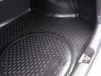 Коврик в багажник автомобиля Kia Cerato 2013- полиуретановый черный