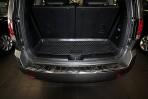 Коврик в багажник автомобиля KIA Mohave 2009- (7 мест) полиуретановый черный