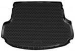 Коврик в багажник автомобиля Kia Sorento 2013- (5-мест) полиуретановый черный