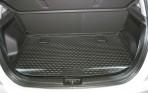 Коврик в багажник автомобиля Kia Venga 2010- (верхний) полиуретановый черный