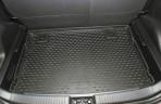 Коврик в багажник автомобиля Kia Venga 2010- (нижний) полиуретановый черный