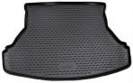 Коврик в багажник автомобиля Lada Granta Sedan 2011- полиуретановый черный
