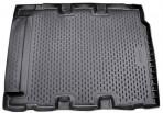 Коврик в багажник автомобиля Land Rover Defender (110) 2007- (5 дверей) полиуретановый черный