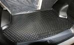 Коврик в багажник автомобиля Lifan X60 2011- полиуретановый черный