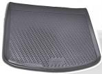 Коврик в багажник для Mazda 3 Hatchback 2009-2013 полиуретановый серый