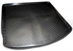 Коврик в багажник автомобиля Mazda CX-5 2012- полиуретановый черный
