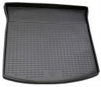 Коврик в багажник автомобиля Mazda CX-7 2006-2012 полиуретановый черный